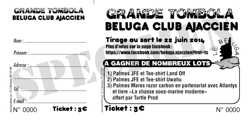 Grande tombola Béluga Club Ajaccien Bat-be13