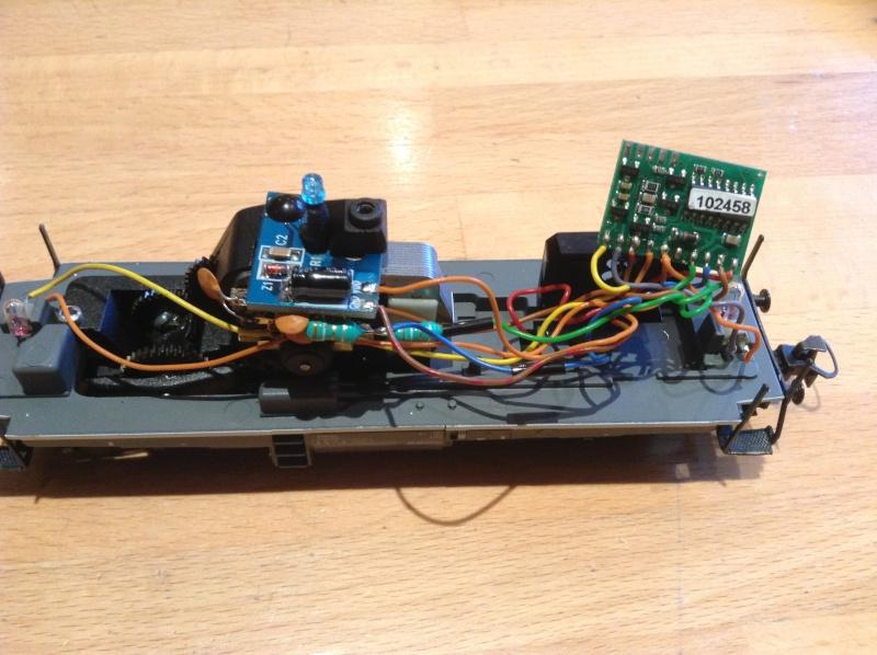 "Module ""gyrophare"" sur V100 ""SECO DG"" Märklin 83474 2014-011"