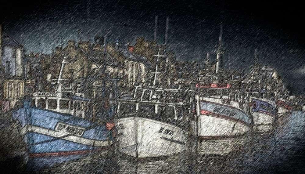 Pêche de nuit et sa suite _gb83918