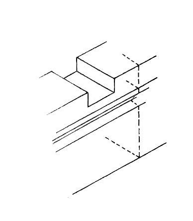 profondeur dans un ecart a croc reliant un madier et une allonge Le_req11