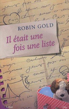 IL ÉTAIT UNE FOIS UNE LISTE de Robin Gold 518dyo10