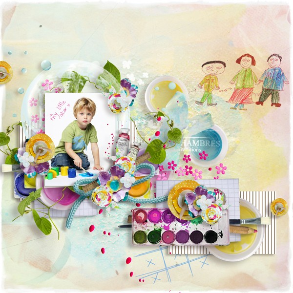 A girl's birthday kit and templates and Welcome to my world templates - May 2. iNSD Dsdddd23