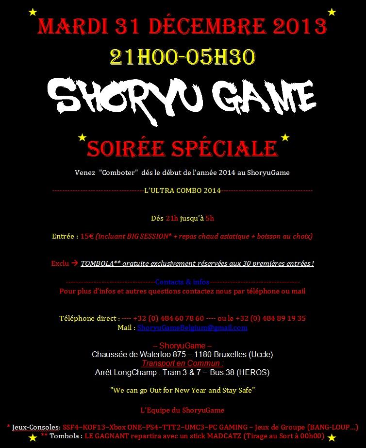 "Soirée Spéciale ShoryuGame ""SSSG"" ** 31/12/2013 Screen10"