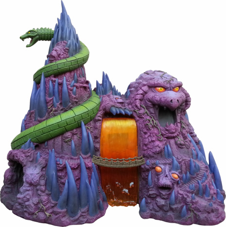 "Masters of the Universe Castle Grayskull  and Snake Mountain Polystone Environment ""ICON HEREOS"" 13904310"