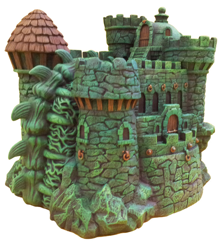 "Masters of the Universe Castle Grayskull  and Snake Mountain Polystone Environment ""ICON HEREOS"" 63838410"