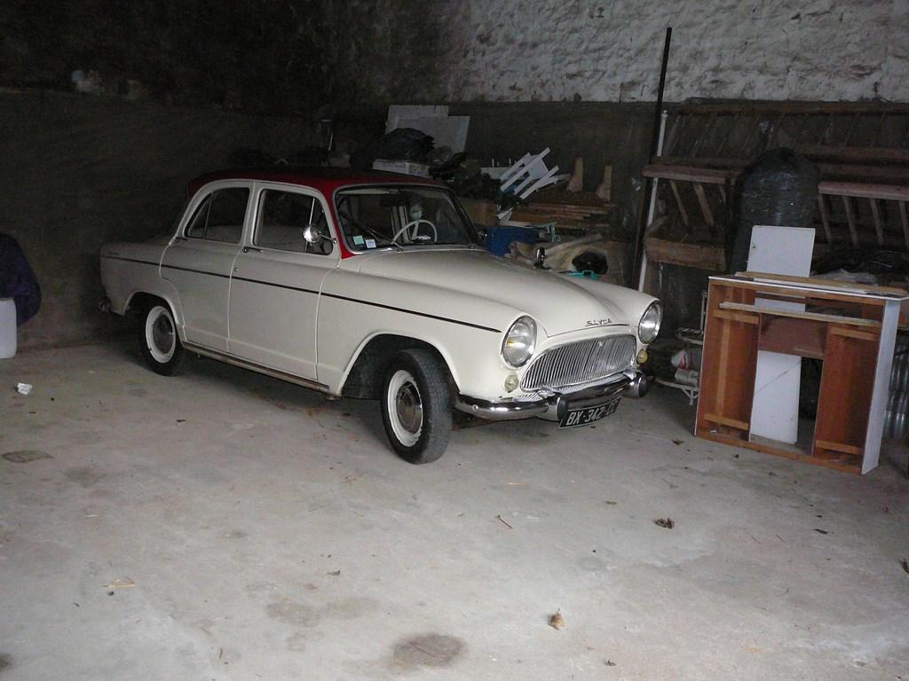 Simca P60 de 1961 P1070718