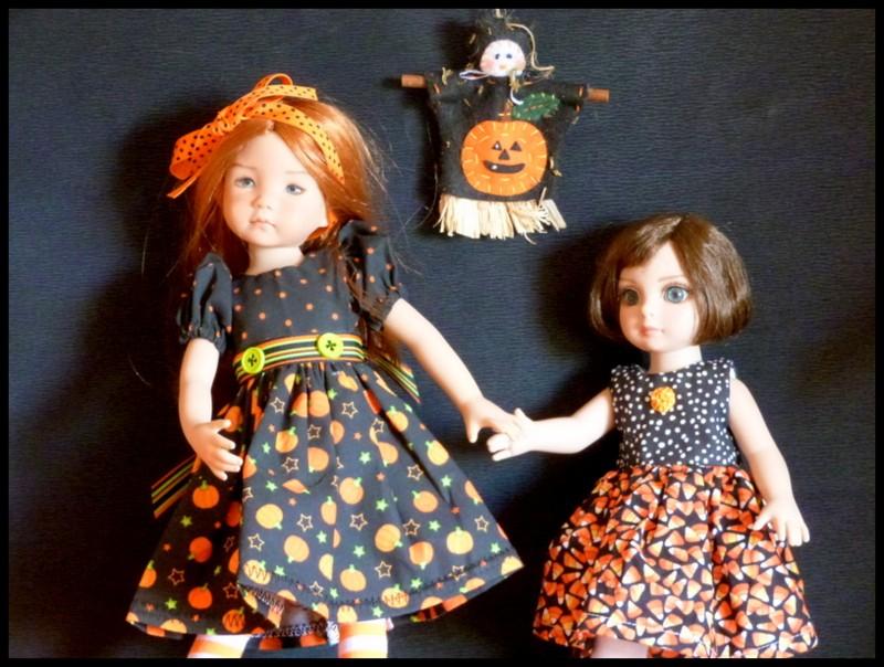 Halloween pour Eva et Morgane P1110612