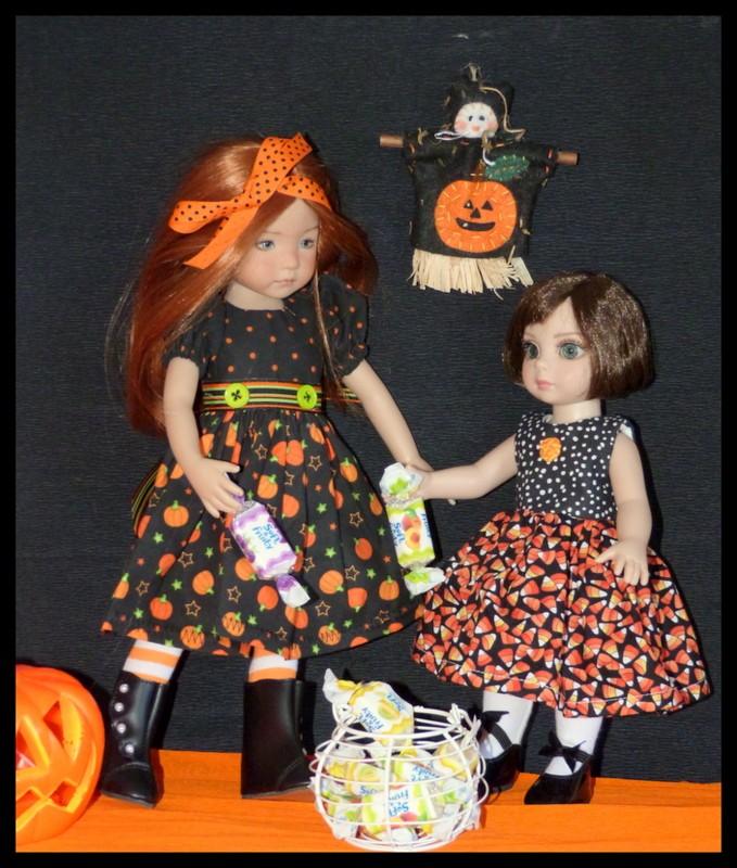 Halloween pour Eva et Morgane P1110710