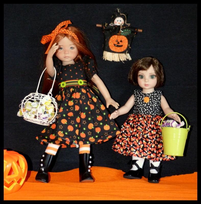 Halloween pour Eva et Morgane P1110712