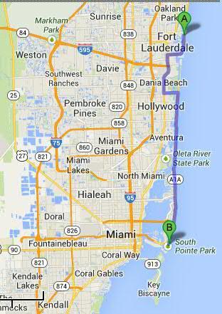 5 Auvergnats en Floride - Universal Busch Gardens et WDW Octobre 2013 - Page 4 Trajet10