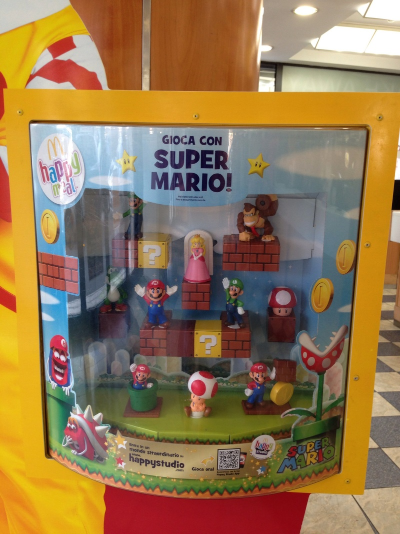 Super Mario 3D World s'invite chez Mcdonald's  95823610