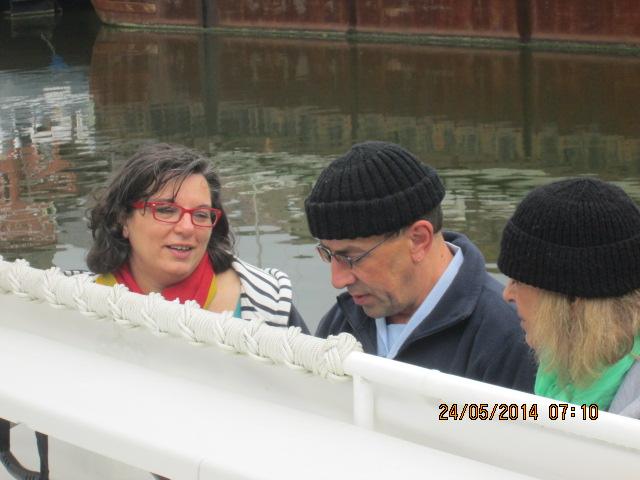balade avec le Forban et les bénévoles du MRA 1_2010