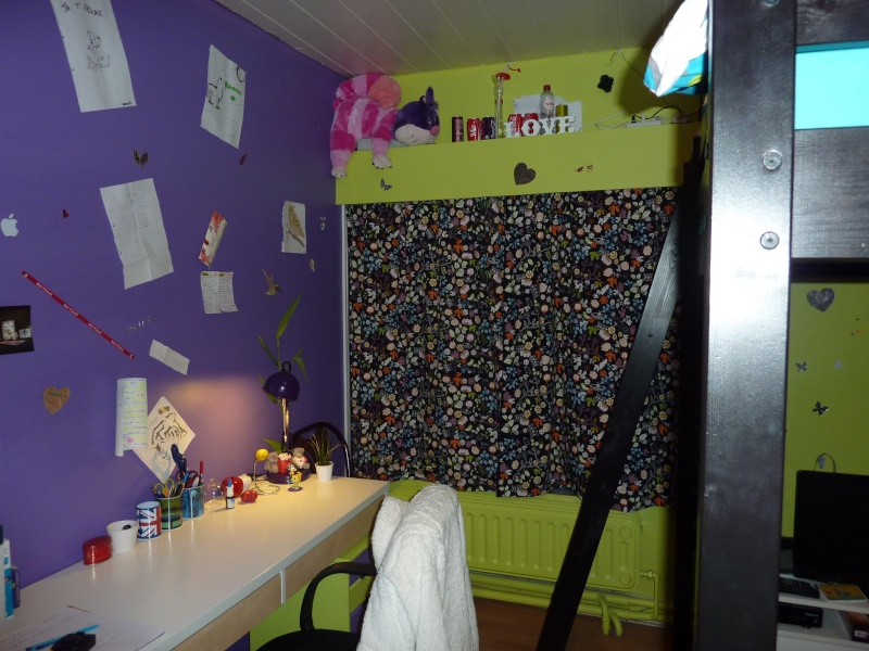 Relooking chambre ado fille Vue_fe10