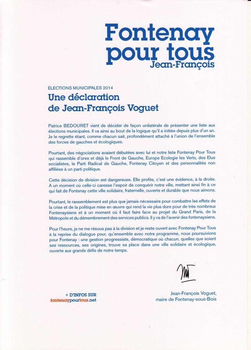 MUNICIPALES 2014 : Union PCF-PS, le film des événements - Page 11 17812710
