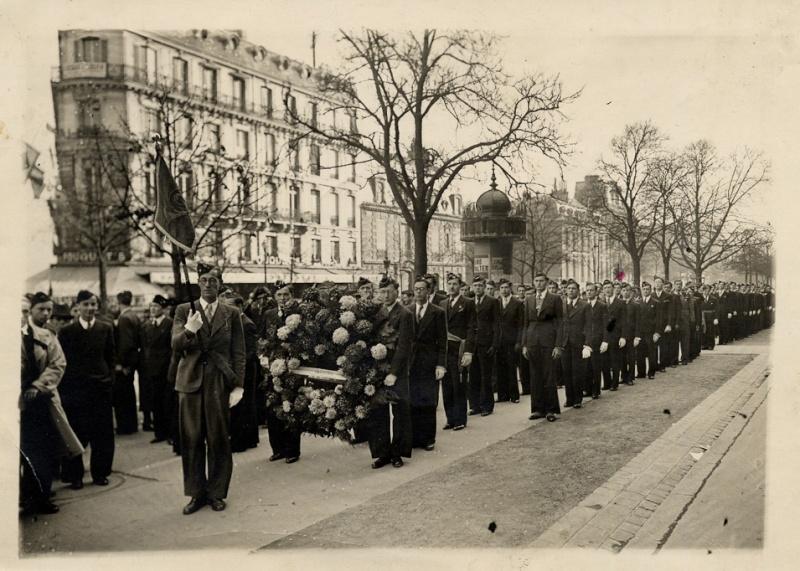 11 novembre 1940 une manifestation de résistance.  Img2_e10