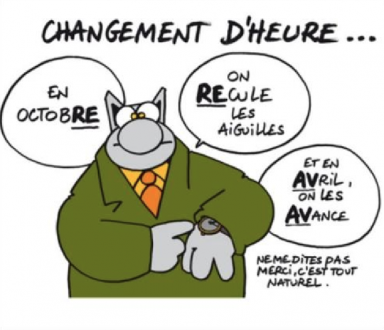 ce week-end on change d'heure H-20-210