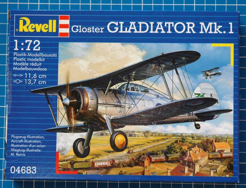 Gloster Gladiator 1/72 von Revell G112