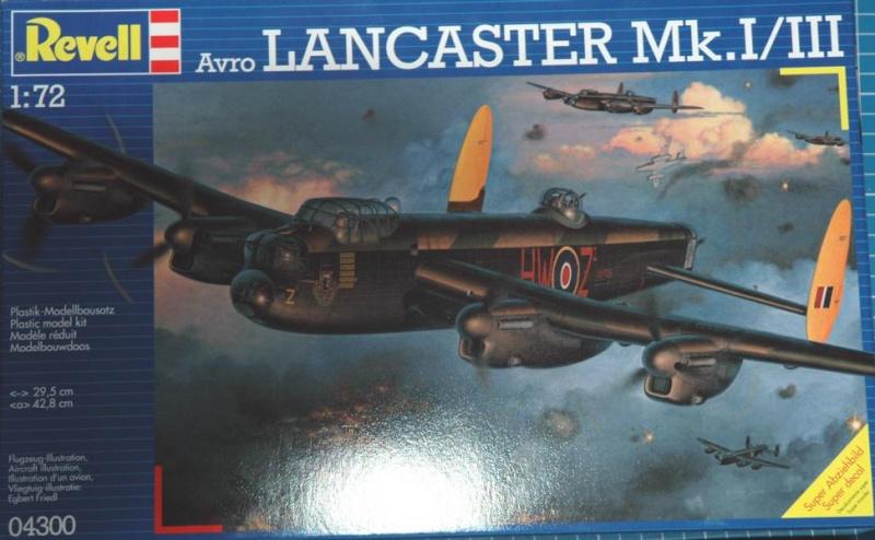 Avro Lancaster Mk.I/III in 1/72 von Revell K800_112