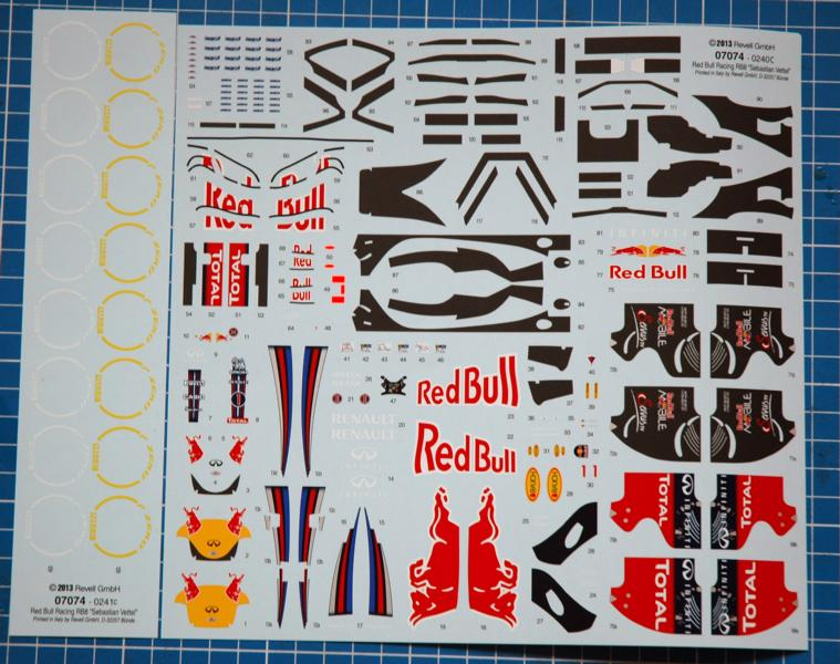 Revell Red Bull Racing RB8 in 1/24 K800_211