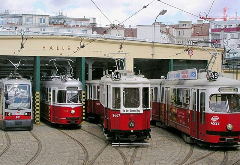 Strassenbahn in 1/35 Wien10