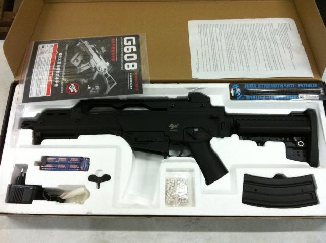 Vendo G36 con cargadores de M4 precio rebajado 90€ G36_311