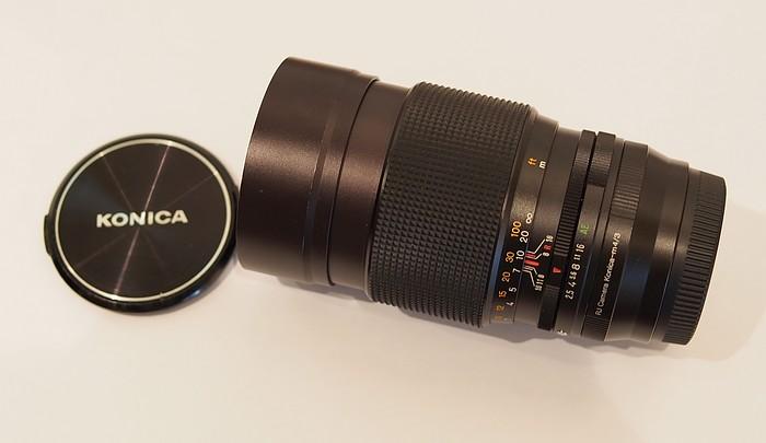 VDS Objectif KONICA HEXANON  AR 135mm f/2.5 P1007010