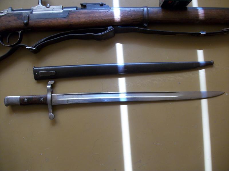 Quelques baïonnettes montées sur leurs armes - Page 2 Steyr_14