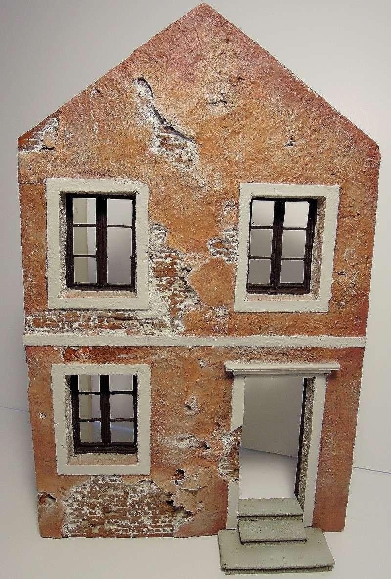 façade maison italienne sratch intégral 1/35  Dscn6574