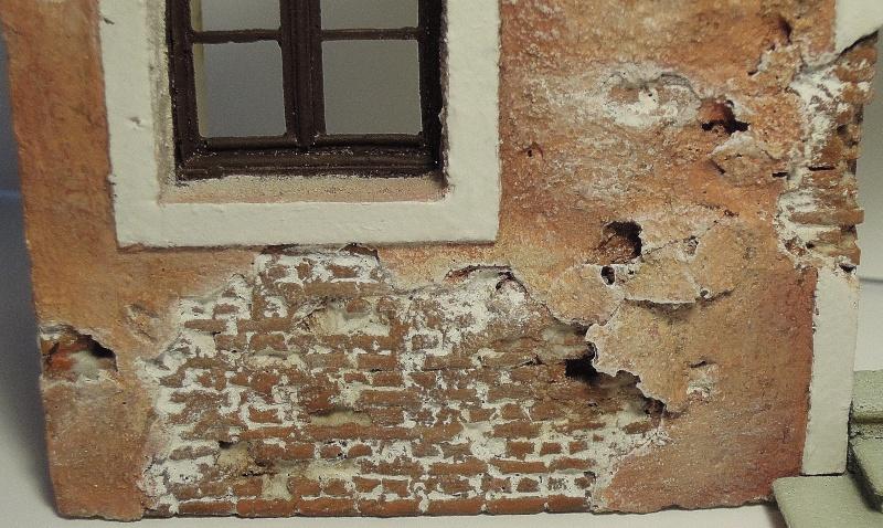 façade maison italienne sratch intégral 1/35  Dscn6580