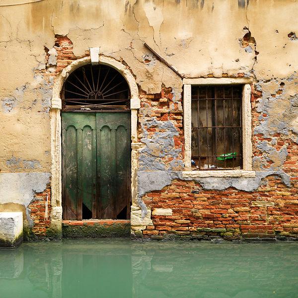 façade maison italienne sratch intégral 1/35  Venise10