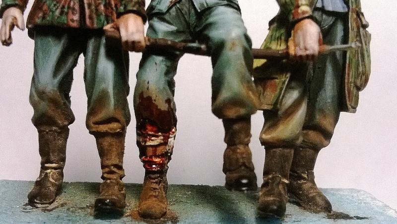 figurines diverses 1/35, whermacht, waffen SS, civil............  Wp_20135