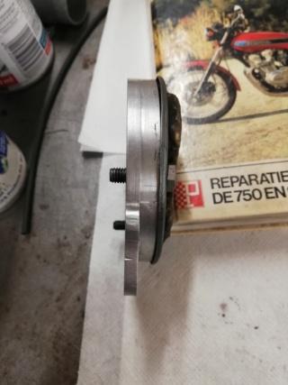 dejaugeage de l huile sur FJ sidecar Img_2058