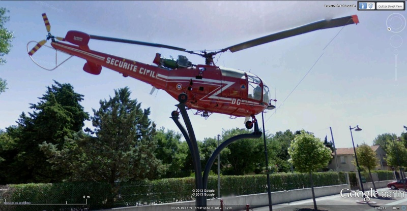 STREET VIEW : Hélicoptères Alloue10