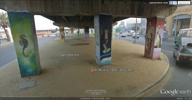 STREET VIEW : les fresques murales - MONDE (hors France) - Page 14 Art_mu13