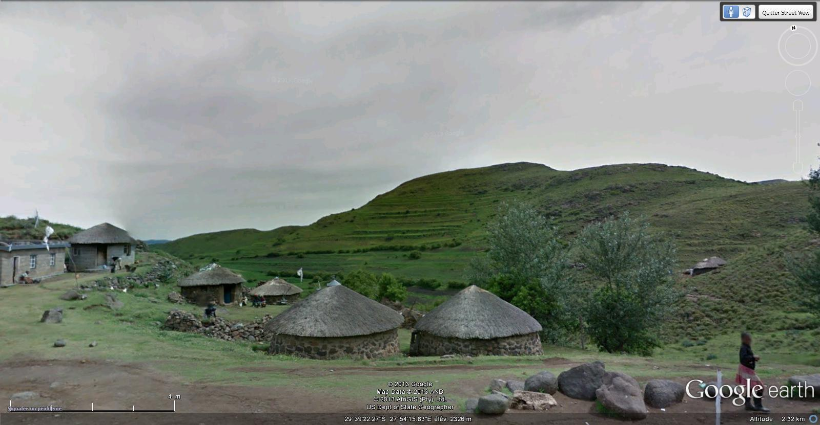[Lesotho] - Street-view les cartes postales Carte_10