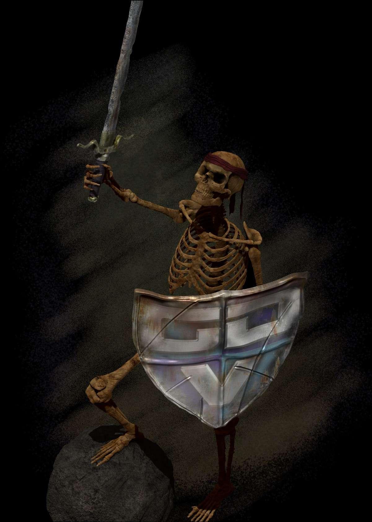 """Projet 4 """"Skull Warrior gdv"""" Projet11"""