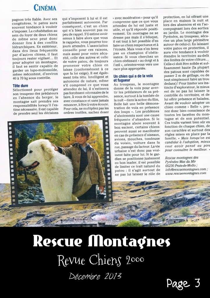 Rescue Montagnes dans la presse Ccf13112
