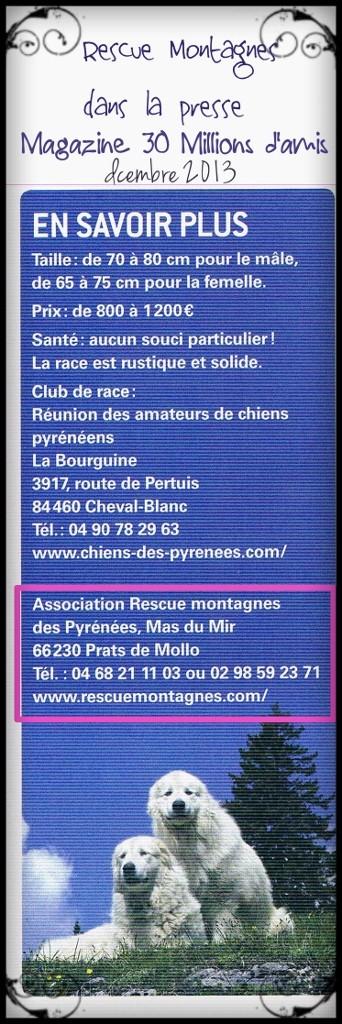 Rescue Montagnes dans la presse Ccf22111