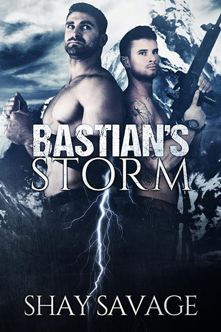 Surviving Raine - Tome 2 : Bastian's Storm de Shay Savage Bastia11