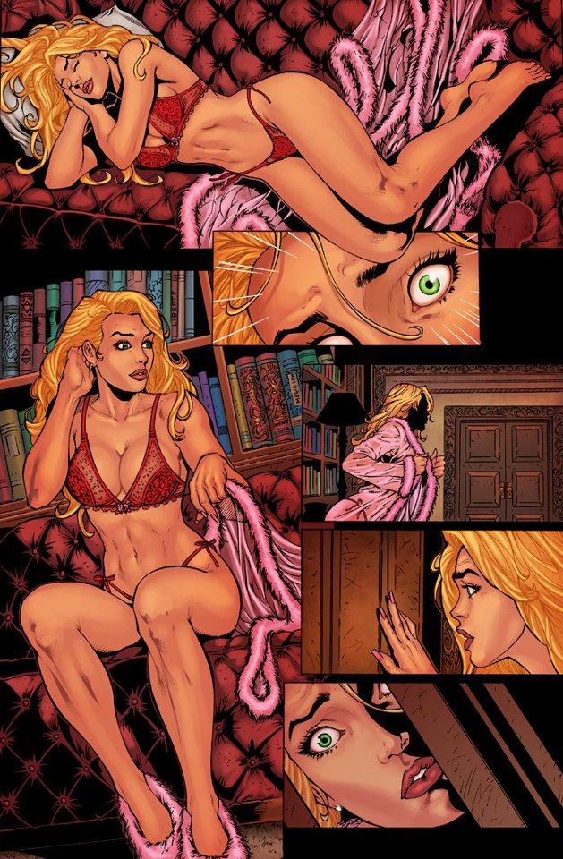 Fièvre de Lune (Le comic des Chroniques de MacKayla Lane) Mac_210