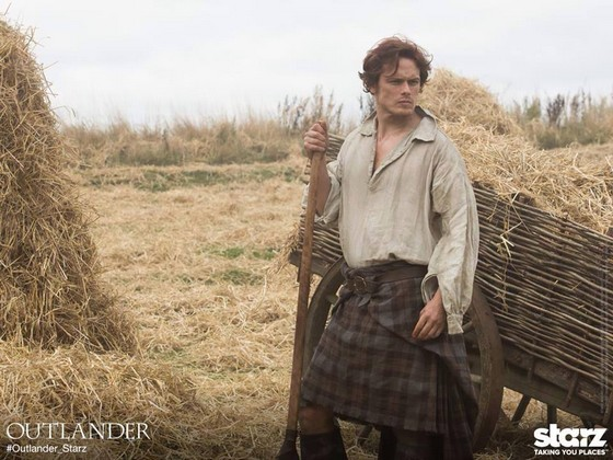 chardon tartan - Adaptation cinématographique de Outlander (Le Chardon et le Tartan) de Diana Gabaldon Outlan10