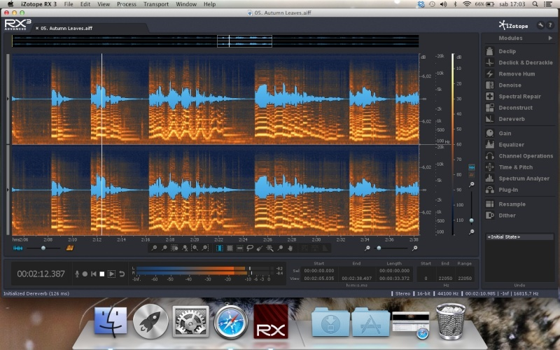 izotope RX3 Advanced Screen13