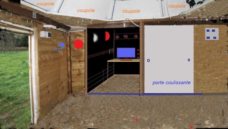 cave inondée, télescopes sauvés, Captur70