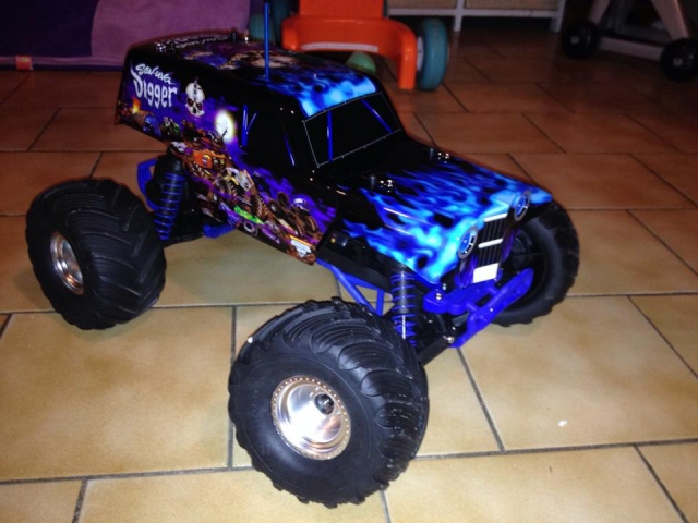Mon ex FG Monster Beetle & mes autres ex rc non short course 10009811