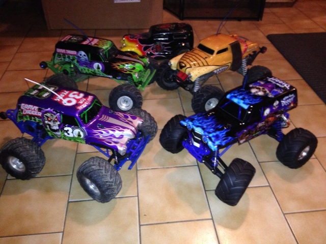 Mon ex FG Monster Beetle & mes autres ex rc non short course 14888610