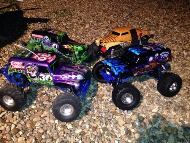 Mon ex FG Monster Beetle & mes autres ex rc non short course 19000711