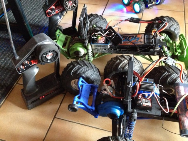 Mon ex FG Monster Beetle & mes autres ex rc non short course 19013912