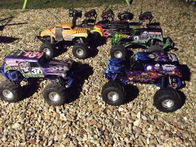 Mon ex FG Monster Beetle & mes autres ex rc non short course Dscf2034
