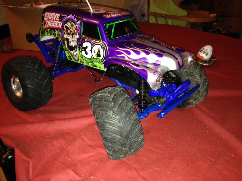 Traxxas Grave Digger 30th Anniversary , 1/10 Img_0350