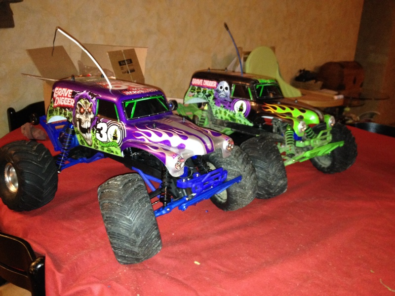 Traxxas Grave Digger 30th Anniversary , 1/10 Img_0351